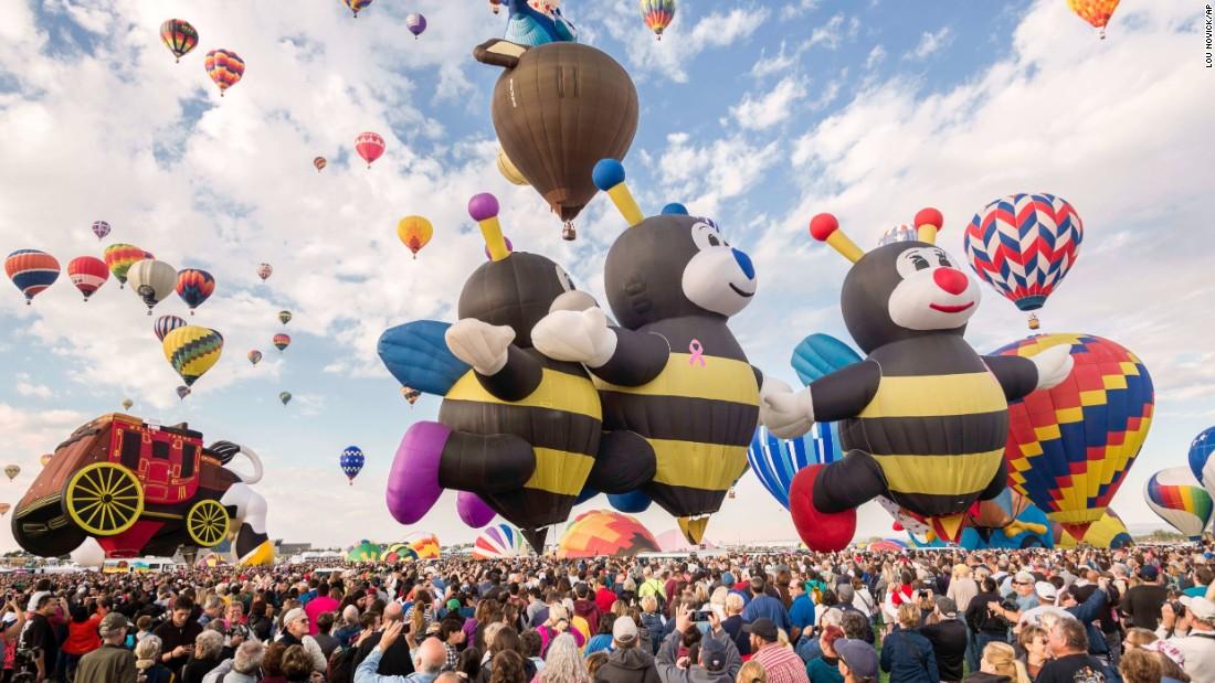 lễ hội khinh khí cầu ở Mỹ 2