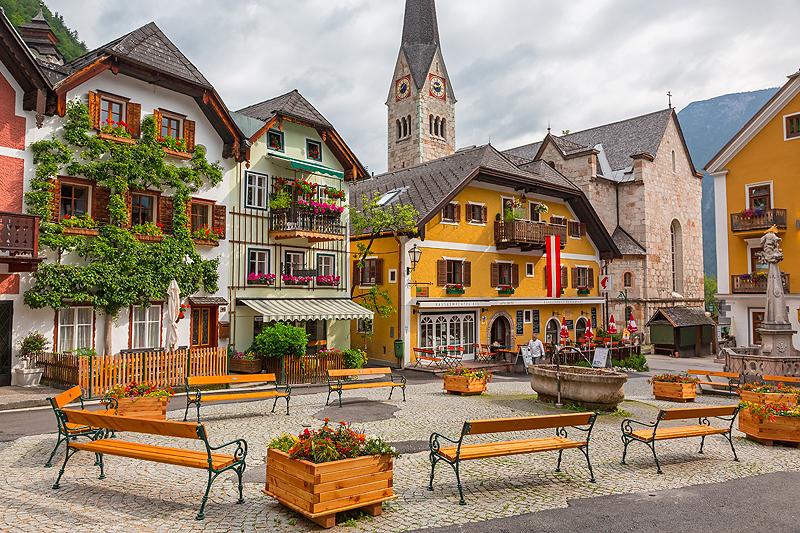 Thị trấn Hallstatt-nước Áo