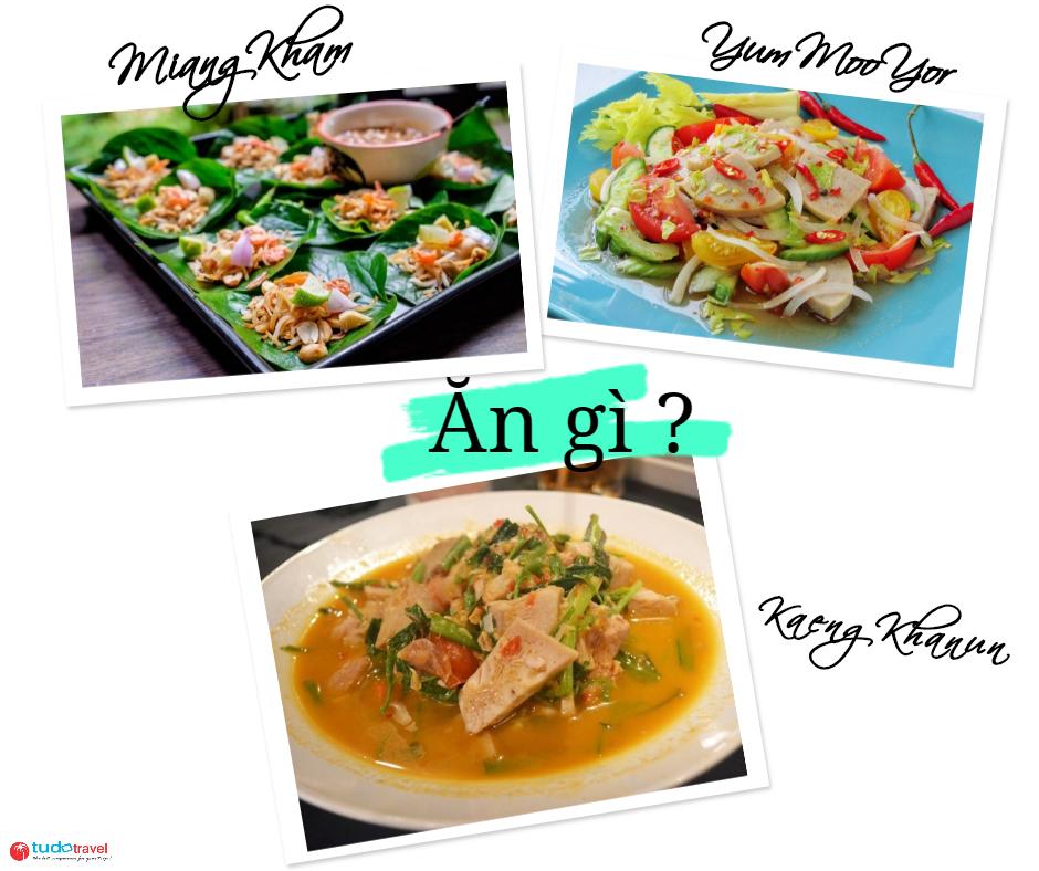 ăn gì ở Chiang Mai