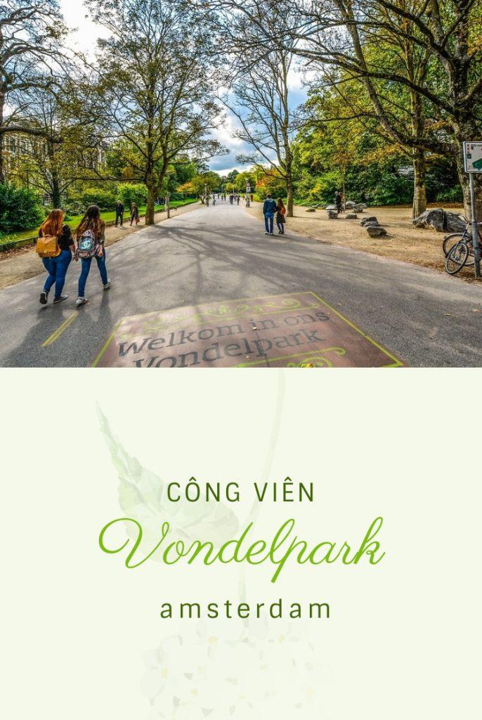 công viên vondelpark