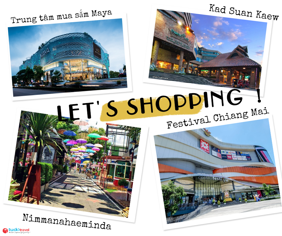 mua sắm ở Chiang Mai