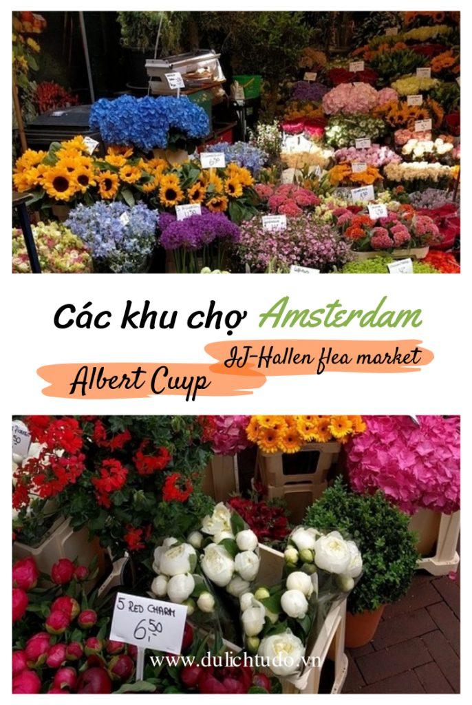 các khu chợ amsterdam