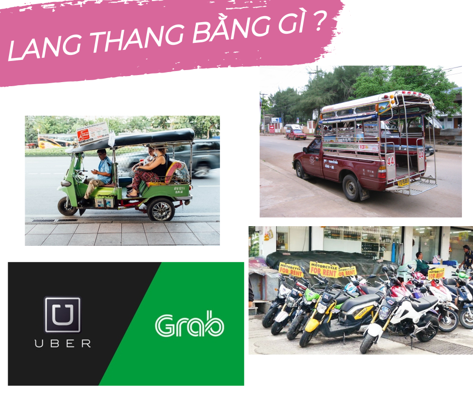 lang thang bằng gì ở Chiang Mai
