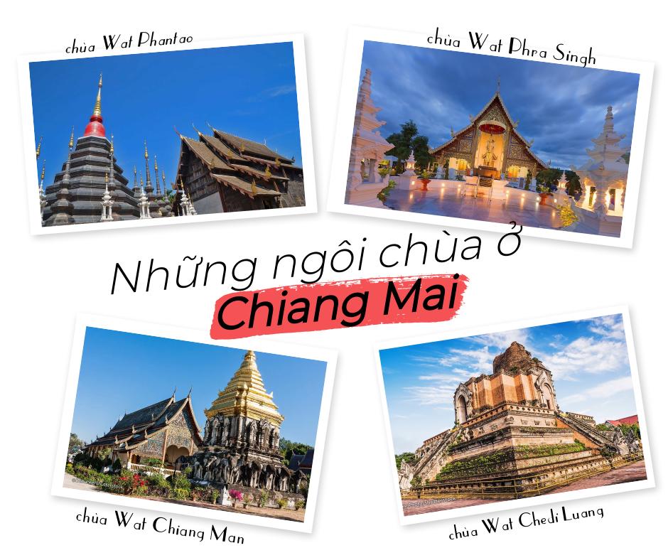 những ngôi chùa ở Chiang Mai