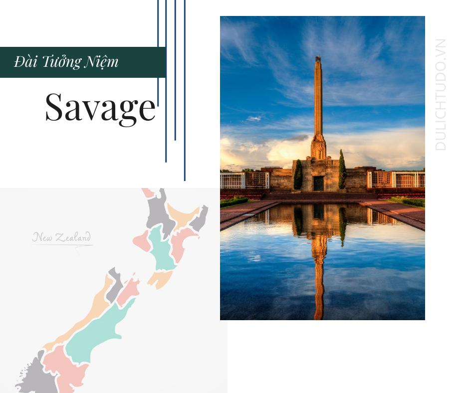đài tưởng niệm savage