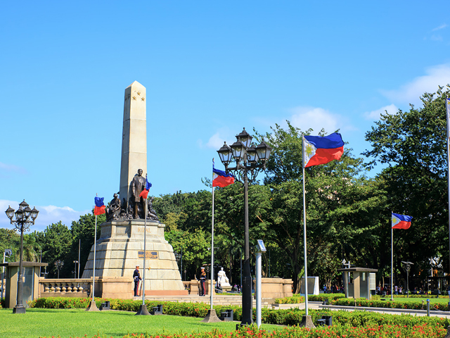 công viên Rizal park