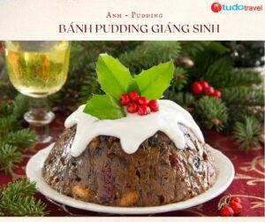 bánh pudding giáng sinh
