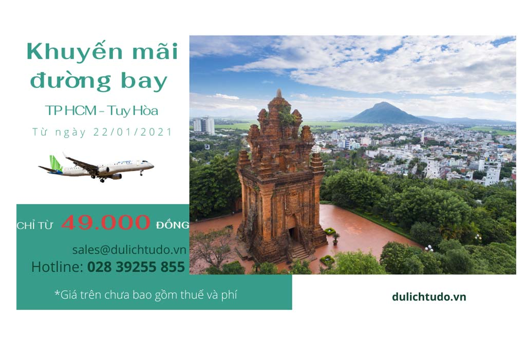 Hồ Chí Minh đi Tuy Hòa