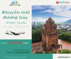 Khuyến mãi đường bay HCM đi Tuy Hòa