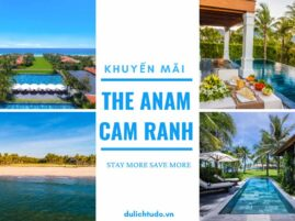 Khuyến mãi The Anam - Cam Ranh