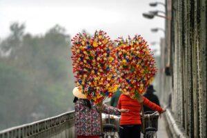 làng nghề hoa giấy thanh tiên