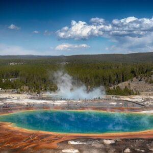 Suối nước nóng Grand Prismatic Spring