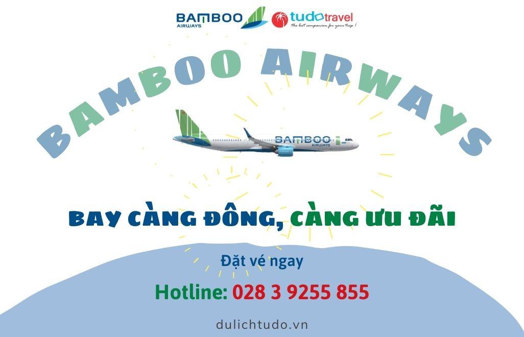Vé máy bay khuyến mãi Bamboo Airways